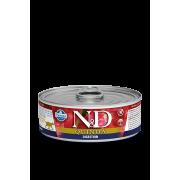 """Влажный корм д/кошек """"N&D Cat Quinoa Digestion: с ягненоком и киноа"""" ."""