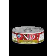 """Влажный корм д/кошек """"N&D Cat Skin&Coat Quail wet food: с киноа, уткой и кокосом"""""""