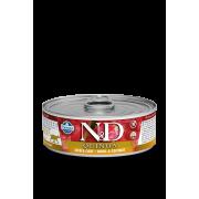 """Влажный корм д/кошек """"N&D Cat Skin&Coat Quail wet food: с киноа, перепелом и кокосом"""""""