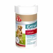 8in1 Excel Calcium кальциевая добавка для собак, 155 таб.