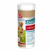 8in1 Excel Calcium кальциевая добавка для собак, 470 таб.