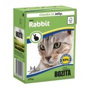 Влажный корм Bozita кусочки в желе с кроликом, 370 гр.