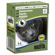 Влажный корм Bozita кусочки в соусе с кроликом, 370 гр.