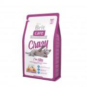 Корм Brit Care Cat Crazy Kitten для котят, беременных, кормящих кошек