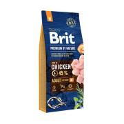 Корм Brit Premium by Nature Adult M для взрослых собак средних пород с курицей
