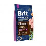 Корм Brit Premium by Nature Junior S сухой корм для щенков мелких пород с курицей