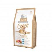 Корм Brit Care Cat Cocco Gourmand с уткой и лососем для привередливых кошек