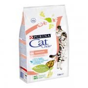 Корм CAT CHOW для взрослых кошек с чувствительным пищеварением с птицей и лососем