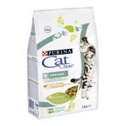 Корм CAT CHOW стерилизованных кошек с домашней птицей