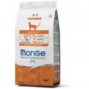 Корм Monge Cat Sterilised Duck для стерилизованных кошек с уткой