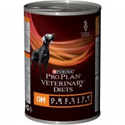 Консервы Pro Plan для собак при ожирении, OM Veterinary diets, 400 гр.