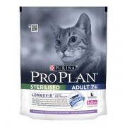 Корм PRO PLAN для стерилизованных кошек кошек старше 7 лет с индейкой, STERILISED