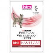 Влажный корм Pro Plan для кошек при диабете с говядиной, DM Veterinary diets, 85 гр.