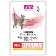 Влажный корм Pro Plan для кошек при диабете с курицей, DM Veterinary diets, 85 гр.