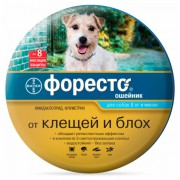 Ошейник Форесто от блох и клещей для собак