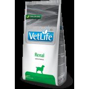 Корм Farmina Vet Life Dog  Renal при хронической почечной недостаточности