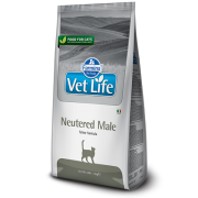 Корм Farmina Vet Life Neutered Male для кастрированных котов