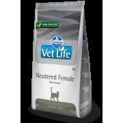 Корм Farmina Vet Life Neutered Female для стерилизованных кошек