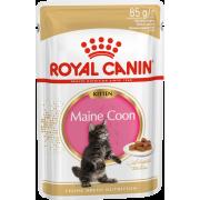 Влажный корм Royal Canin в соусе для котят породы мейн-кун до 15 месяцев , Maine Coon Kitten