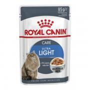 Влажный корм Royal Canin Ultra Light в желе для кошек, склонных к полноте
