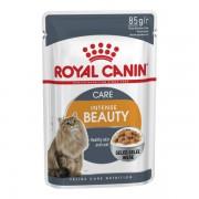 Влажный корм Royal Canin: Intense beauty в желе для поддержания красоты шерсти кошек