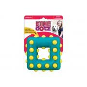 Игрушка Kong Dotz квадрат малый для собак 9 см