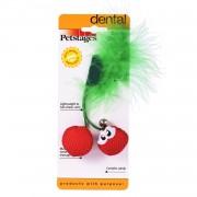 Игрушка Petstages Dental вишни для кошек с кошачьей мятой 7 см
